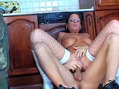 Cock Slobbering MILF Ann