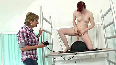 Miss Satine Spark At The Orgasm Clinic