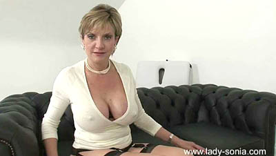 Lady Sonia - The Ultimate Electric Orgasm For Charles