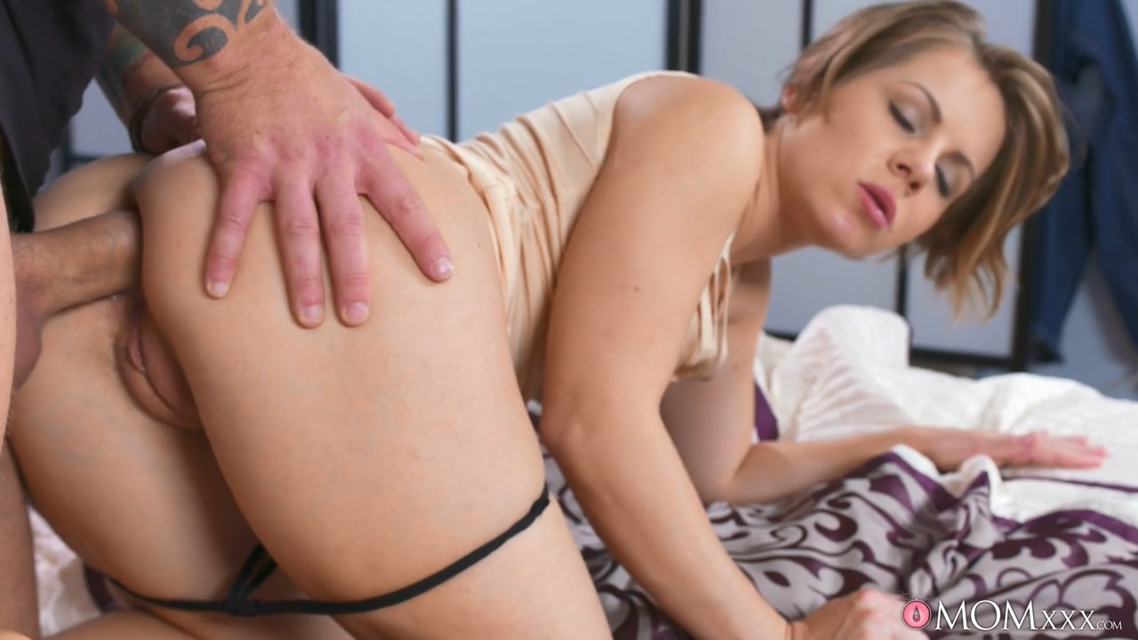 Remarkable phrase Mom son anal creampie something also